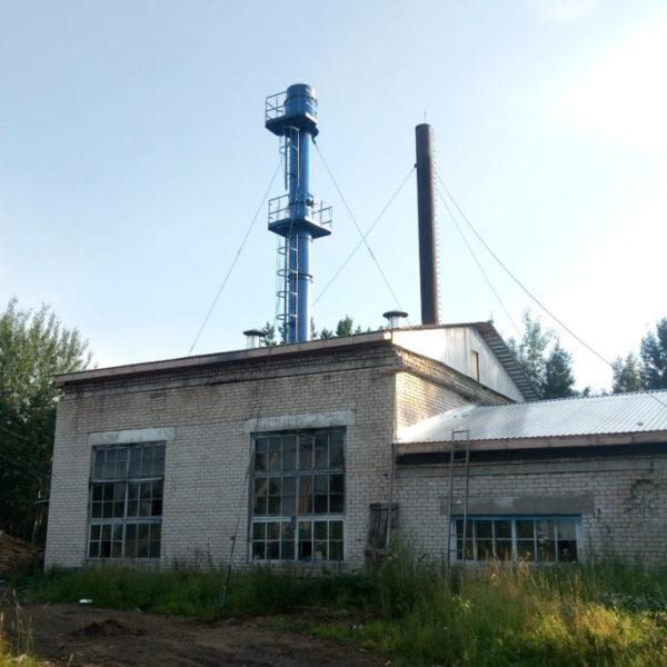 Монтаж промышленного котла КВСрд - 0,8 МВт в Архангельской области