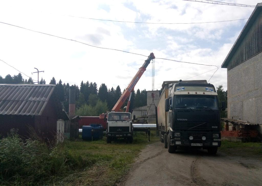 Монтаж промышленных котлов КВСрд-0,8 МВт в Республике Карелия